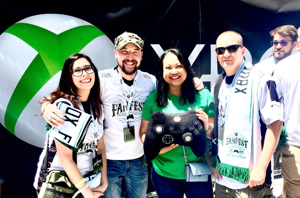 DoPeY5007 and fellow Xbox Ambassadors