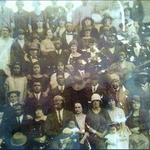Old worn photo of MDH BigWorm's great grandparents