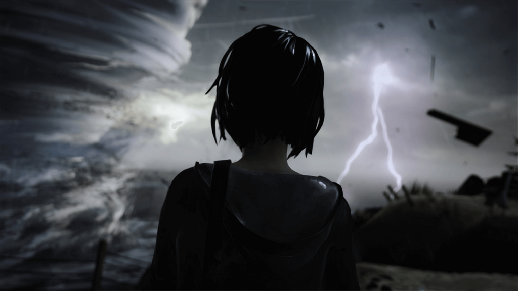 Screenshot from the video game Life is Strange